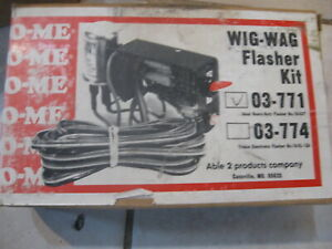 New Vintage Wigwag Flasher Kit Ideal Electronic Pn 03 0771 On Off Switch