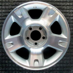 Ford Explorer Machined W Charcoal Pockets 16 Inch Oem Wheel 2001 2005