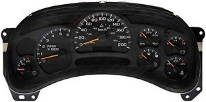 Gmc Chevy Truck Suv Instrument Cluster Gauge Repair Service R r You Ship To Us