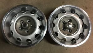 Mopar Rally Wheels Small Bolt Pattern 5on4 A body Dart Duster Valiant J14838