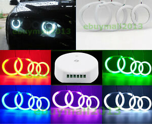 Bluetooth App Control Cotton Rgb Halo Ring Angel Eyes For Mazda6 Mps Atenza 2002