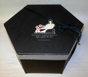 Rare Rateau France Young Quinlan Rothschild Mpls Art Deco Hat Box Woman Museum