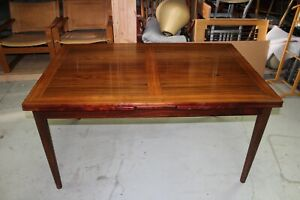 Vintage Danish Modern Rosewood Eric Buch 6 Dining Chairs Table