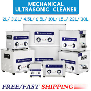 Ultrasonic Cleaner Cleaning Equipment 2 30 Liter Industry Timer Heater Basket