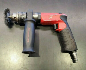 Snap On Heavy Duty Pneumatic Drill 1 2 Capacity Reversible Pdr5000a Us Made