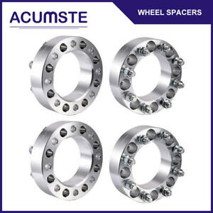 4pcs 8 Lug Wheel Spacers 8x6 5 2 Inch 9 16 Studs For Dodge Ram 2500 3500 Ford