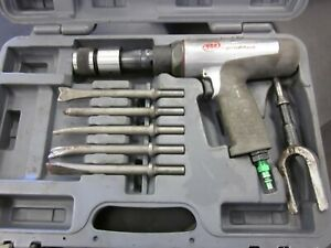Ingersoll Rand 118max Long Barrel Air Hammer Pneumatic Percussive Tool With Case
