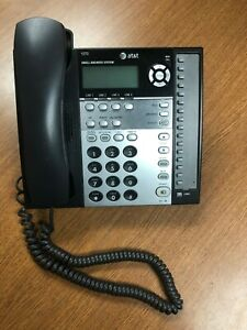 At t 1070 4 Line Corded Business Desk Phone With Caller Id