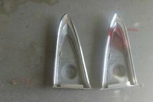 1957 Lincoln Tail Light Tailight Housing Pair Br