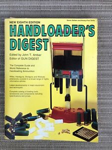 Handloader's Digest 8th Ed Vtg Gun Ammunition 1978 Shells Bullets Cartridge Book