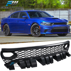 Fits 15 19 Dodge Charger Srt Scat Pack Conversion Front Mesh Grille W Air Duct