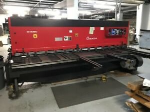 10 x1 4 Amada M 3060 Cnc Mechanical Shear