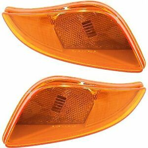 Turn Signal Light For 2009 2013 Mazda Mx 5 Miata Plastic Lens Lh