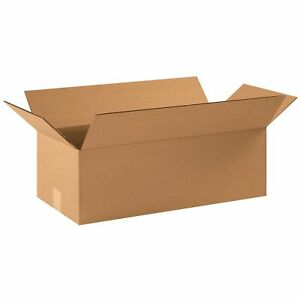 100 22 X 10 X 6 Corrugated Shipping Boxes Storage Cartons Moving Packing Box