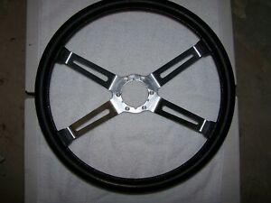 Olds Cutlass 442 W30 70 77 Oem 4 Spoke N 34 Sport Steering Wheel Gmpn 9751836