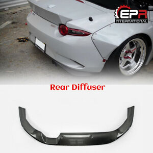 For Mazda Mx5 Nd5rc Miata Roadster Carbon Fiber Rb Style Rear Diffuser Lip Parts