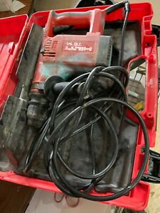 Hilti Te14 Electric Rotary Hammer Drill W case Works