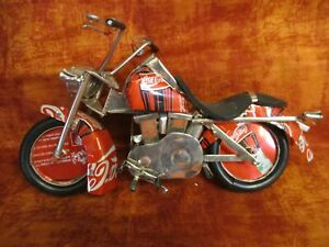 Coca Cola Motorcycle Made From Real Aluminum Coca-Cola Coke Cans Made in Vietnam