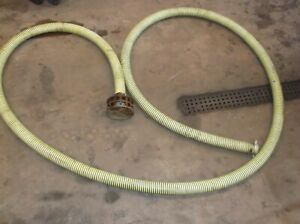 12 Industrial Water Pump Pick Up Hose Line 2 Thread On With Screen Heavy Duty