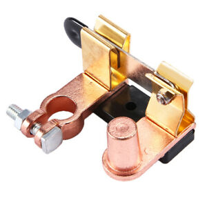 Heavy Duty Shut Cut Off Battery Disconnect Knife Blade Switch Top Post In Usa