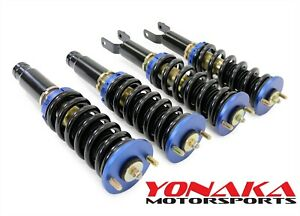 Yonaka Coilovers Suspension 96 00 Honda Civic Ek Heavy Duty Drag Track Race Only
