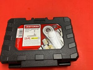 Craftsman 13pc 6pt Standard 3 8 Drive Socket Wrench Set In Box Brand New