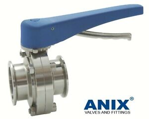 1 1 2 Tri Clamp Sanitary Butterfly Valve Stainless Steel 316l Duck billed