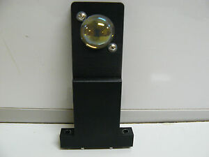 Newport 1 Rounded Laser Aligment Optic Mirror With Mount 4 3 4 Tall