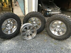 40x15 50r22 Nitto Mud Grappler Tires And Wheels