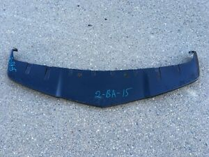 2010 Chevy Camaro Front Bumper Lower Spoiler Part 92208012 Oem