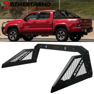 Stehlen Adjustable Truck Bed Chase Rack 3rd Brake Lamp led amber Lights St2b
