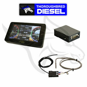 Mads Smarty Touch Programmer W Egt Probe Commod For 2010 18 Dodge Cummins 6 7l