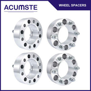 4pcs 2 Hubcentric 6x5 5 Wheel Spacers For Toyota Tundra Tacoma 4runner 14x1 5