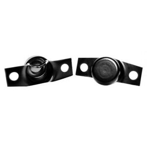 Ford Bronco Tailgate Trunions Black 1966 1977 51 387516 1