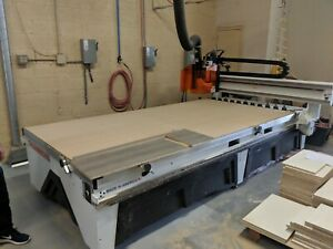 Thermwood Cs43 5 X 10 Cnc Router Cabinet Sign Maker Make It Yourself