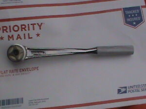 Williams 1 2 Drive Standard Handle Round Head Ratchet 11 1 8 Long S 52a Nos