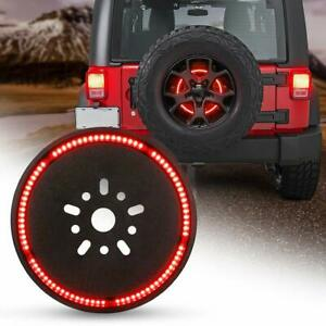 Spare Tire Third Brake Light Led Wheel Ring Light For Jeep Wrangler 1997 2018