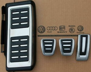 Seat Tarraco Pedals Set Footrest Pedal Pads Caps Covers For Manual Cars