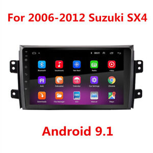 For 2007 2012 Suzuki Sx4 2din 9 Android 9 1 Radio Stereo 2 32gb Gps Navigation