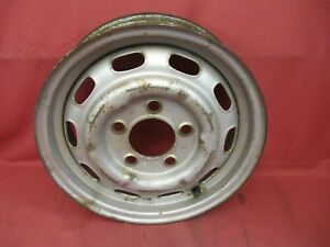 Porsche 356c Kpz Steel Wheel 6049a Dated 1 64
