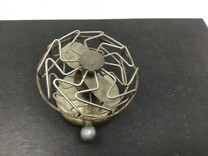 Vintage Cage Type Vacuum Motor Car Accessory Fan 1930s Ford Chevy Dodge Plymouth