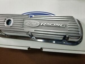 Ford Racing Performance Mustang 289 302 351w Polished Valve Covers M 6582 A302r