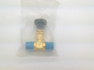 Swagelok B 4jn2 Brass Screwed bonnet Needle Valve 1 4 In Mnpt