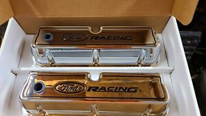 Ford Racing Performance 289 302 351w Mustang Chrome Valve Covers M 6582 R302