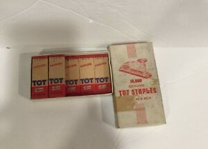 Tot Speed Fastener Staples Vintage New Old Stock Genuine Speed Products Company