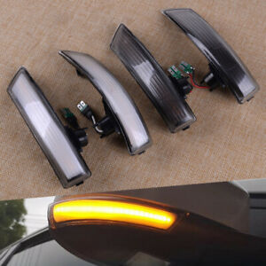 Sequential Led Side Mirror Turn Signal Lights Fit For Ford Focus Mk3 mk3 5 11 18