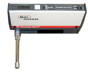 Mahr Federal Pocket Surf Iii Surface Profilometer Roughness Tester Gage Perfect