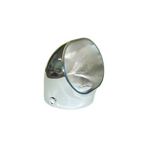 Carburetor Scoop Chrome Fits Stromberg 97 Or Any Carburetor With A 2 5 8