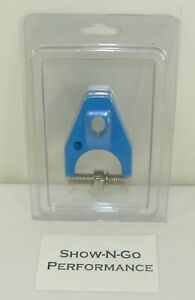 Sbc Small Block Chevy Billet Distributor Hold Down Blue
