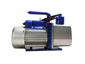 Intbuying Vacuum Pump For Industry 7cfm 3 4hp 110v Rotary Vane Two stage Best